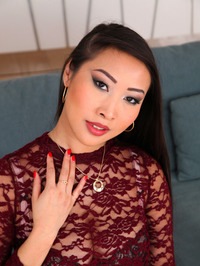 Sharon Lee Sexy Asian Babe Strips 02
