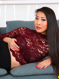 Sharon Lee Sexy Asian Babe Strips 03