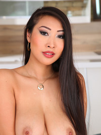 Sharon Lee Sexy Asian Babe Strips 11