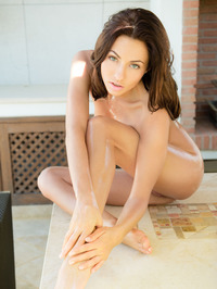 Michaela Isizzu Oils Her Hot Body 09