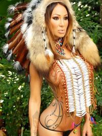 Sandee Westgate Indian princess 01