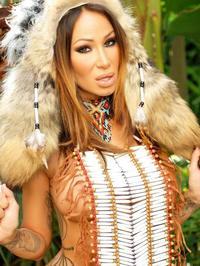 Sandee Westgate Indian princess 02