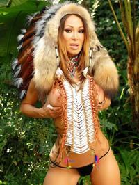 Sandee Westgate Indian princess 05