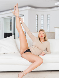 When you put together two little nymphs like Nikki Dream and Eva Berger, what can happen? Well - hardcore anal sex, many gapes,  10