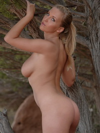 Breasty Honey Janine Posing Naked 13