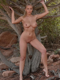 Breasty Honey Janine Posing Naked 14