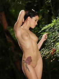Megan In The Garden 14