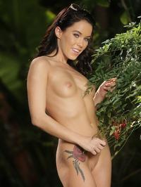 Megan In The Garden 20