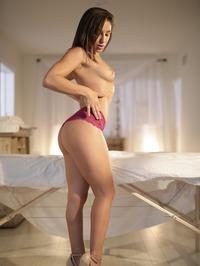 Hot Assed Brunette Abella Danger Spreads Her Pussy 03