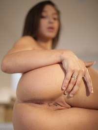 Hot Assed Brunette Abella Danger Spreads Her Pussy 11