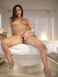 Hot Assed Brunette Abella Danger Spreads Her Pussy 13