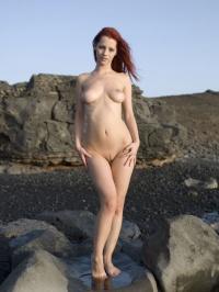 Ariel windy beach 00
