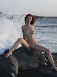 Ariel windy beach 09