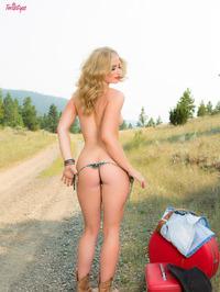 Maya Rae Hitchhiking 02