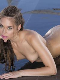 Slim Brunette Riley Reid Strips Off Her Sexy Bikini 17