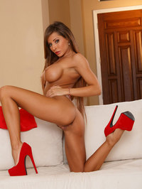 Madison Ivy In Seductive Red Dress 10