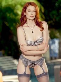 Redhead Beauty Hot Pussy Show 01
