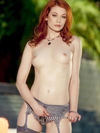 Redhead Beauty Hot Pussy Show 03
