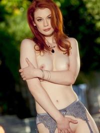 Redhead Beauty Hot Pussy Show 11