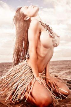 Francine Dee HDR Erotica