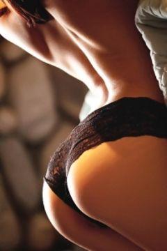Cassie Laine sensual lingerie