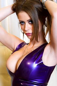 Emily Addison Purple Dress