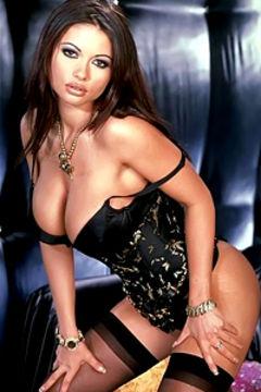 Veronika Zemanova sexy lingerie