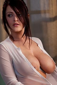 Sophie light blue top