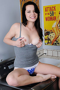 Alexis Tyler Plays With Her Dildo