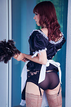 Ariel Rebel In French Maid
