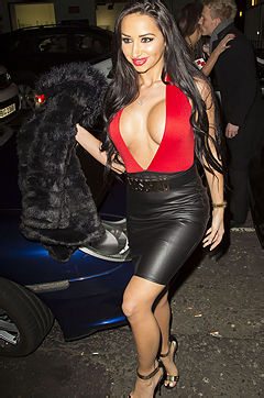 Big Brother Contestant Tashie Jackson Out Clubbing