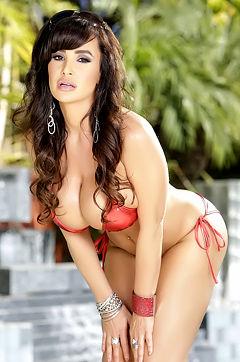Lisa Ann Bikini Bombshell