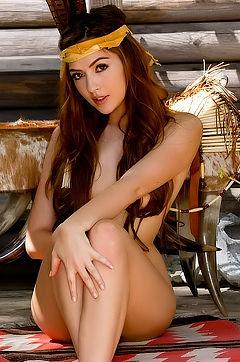 Cassie Laine Sexy Indian Warrior