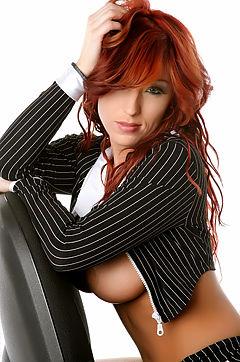 Ashley Robbins Sexy Secretary