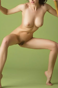 Wild Girl Being Naked