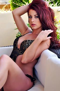 Amazing Redhead Babe Amber