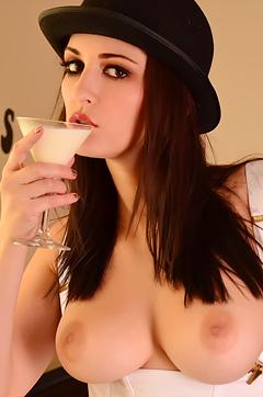 Carlotta Champagne And Her Manikin