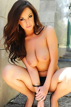 Lindsey Strutt Black Bikini