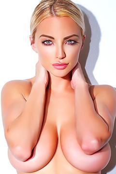 Busty Blonde Lindsey Pelas