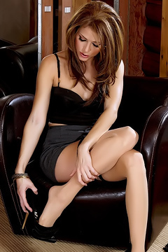 Jenni Lee In Black