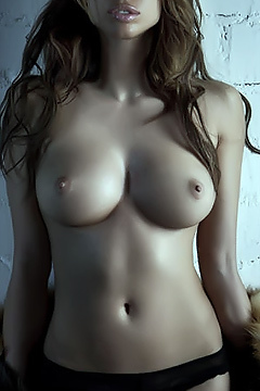 Alina Puscau Posing Topless