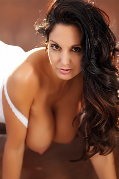 Ava Addams Stripping On Couch