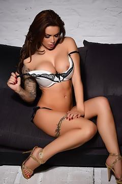 Glamour Model Gemma Massey