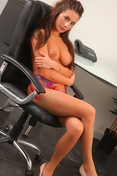 Laura H Feels Naughty After Office