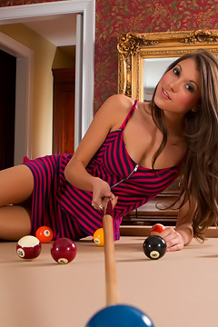 Brittany Marie Is A Pool Shark