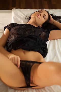 Sexy Sapphira Finds Herself Alone
