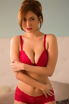 Shay Laren Red Lingerie