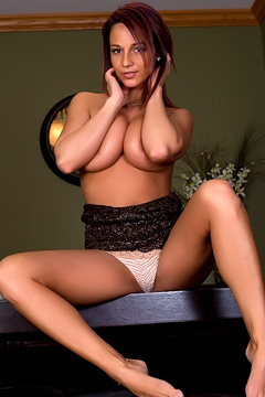 Nikki Sims Is One Hot Secretary