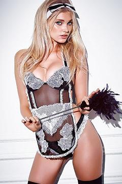 Blonde Model Elsa Hosk