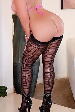 Blonde Erika Stockings
